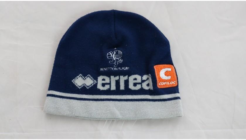 Ian McKinley's Benetton Rugby Worn Hat, 2018/19