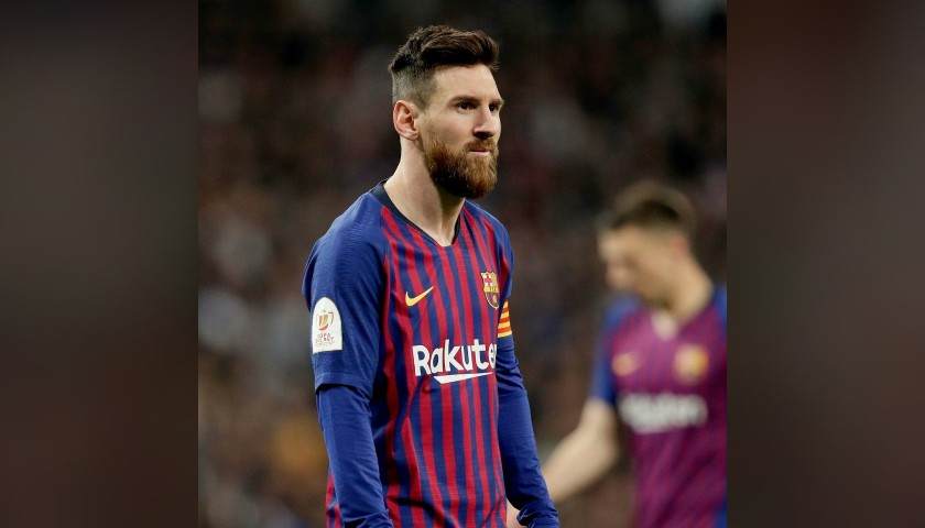 Messi's Match Shirt, Real Madrid-Barcelona 2019