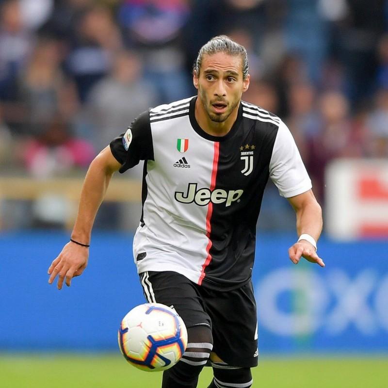 Caceres' Juventus Match Shirt, Serie A 2018/19