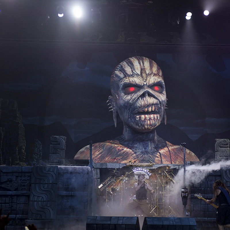 See Iron Maiden Live with Rod Smallwood in Minneapolis