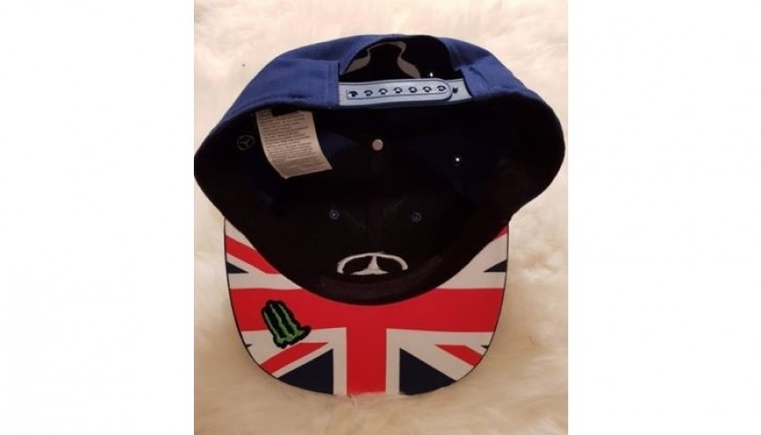 Official Mercedes Cap Signed by Lewis Hamilton