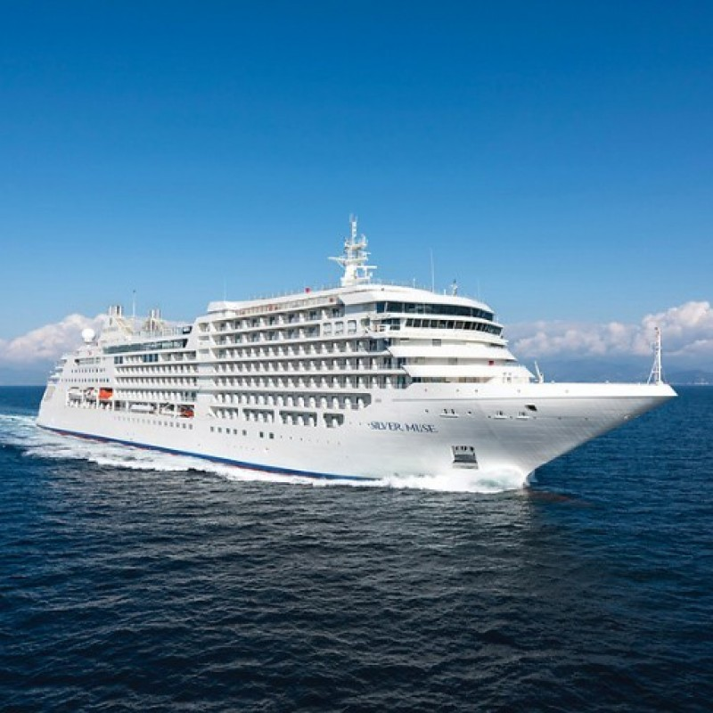 Asia Cruise on the Silver Muse