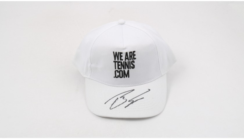 """Wearetennis.com"" Cap Signed by Berdych"