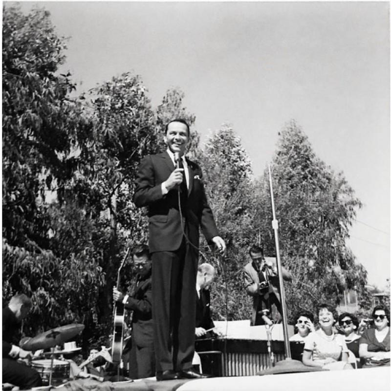 Vintage, Limited-Edition Frank Sinatra Print