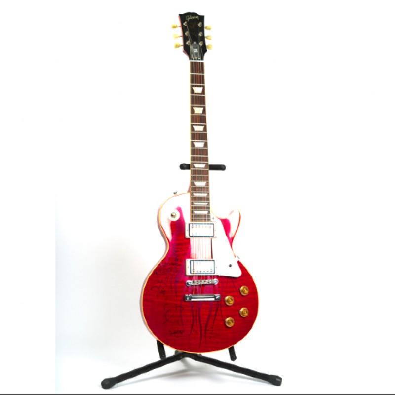 Signed Metallica Les Paul Guitar