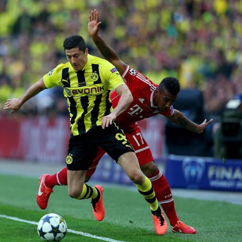 Lewandowski's Borussia Dortmund Match-Issue Shirt, Wembley 2013 Final