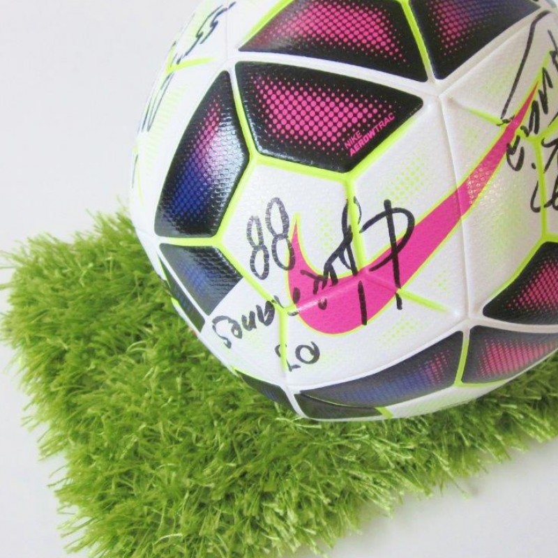 Official Serie A Football signed by the Inter players