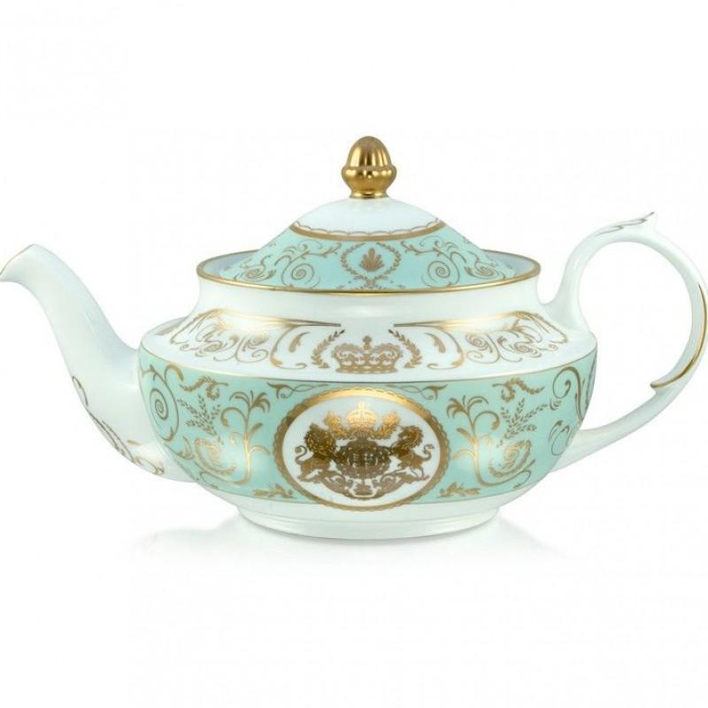 Buckingham Palace Royal Arms Tea Pot & Milk Jug