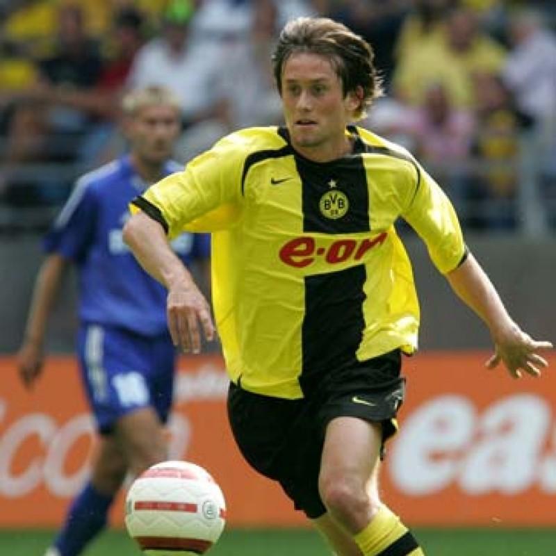 Rosicky's Official Borussia Dortmund Signed Shirt, 2005/06