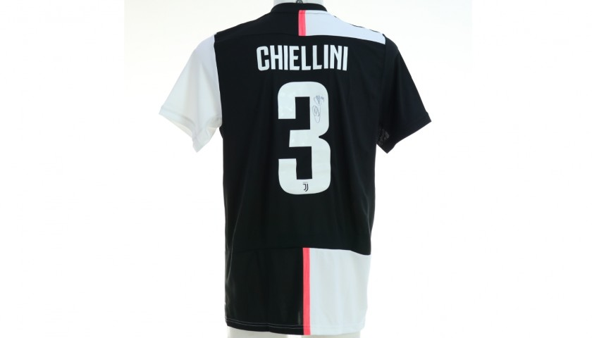 Chiellini's Official Juventus 2019/20 Signed Shirt