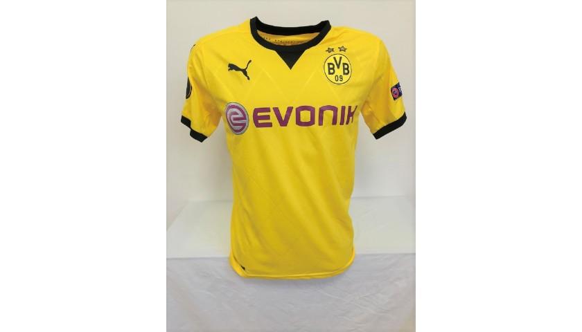 Official Borussia Dortmund Shirt , 2015/16 - Signed by Reus ...