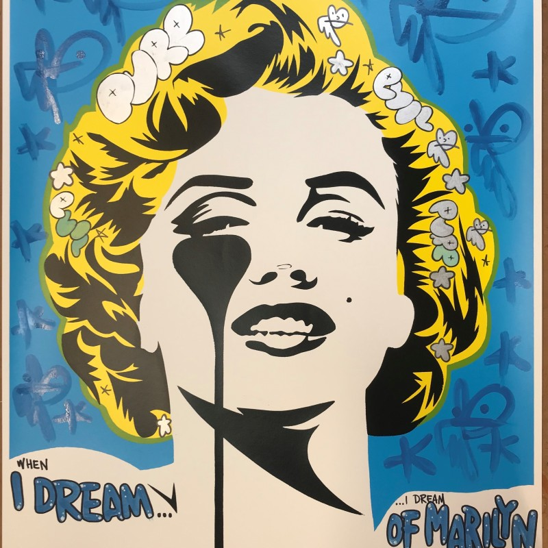 """When I dream, I dream of Marilyn"" by Pure Evil"
