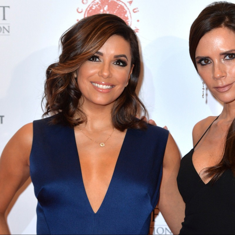 Meet Victoria Beckham and Eva Longoria at Global Gift Gala