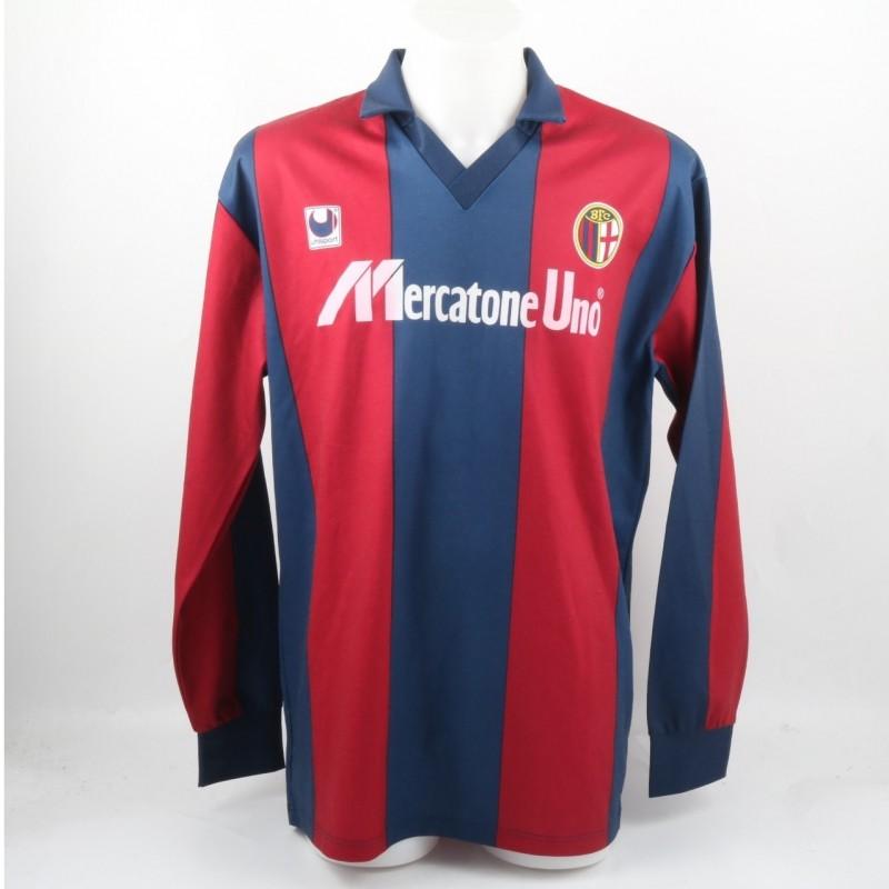 Galvani's Match-Worn Shirt, Bologna-Napoli Serie A 1991