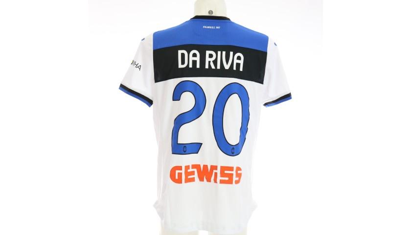 Da Riva's Match-Issued Shirt, Hellas Verona-Atalanta 2020