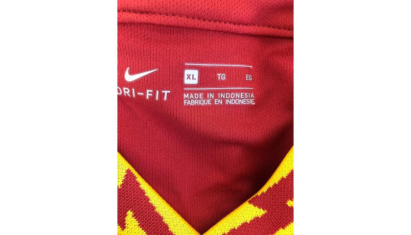 De Rossi's Official Roma Signed Shirt, Last Match