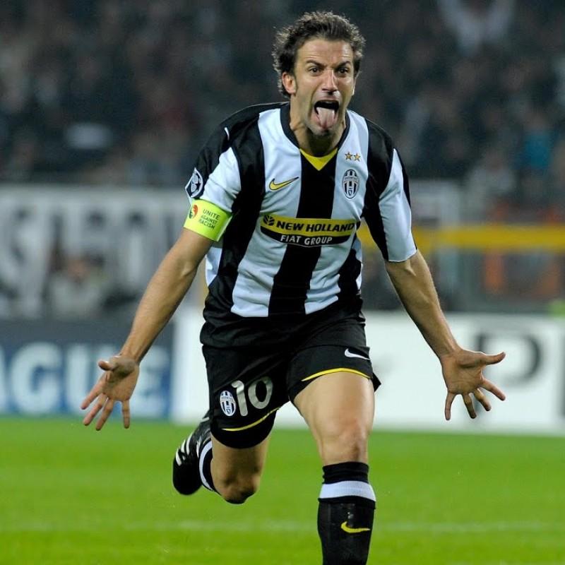 Del Piero's Juventus Match Shorts, 2008/09