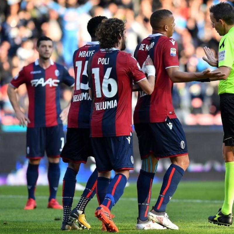 Poli's Bologna Worn Shorts, 2017/18 + Football