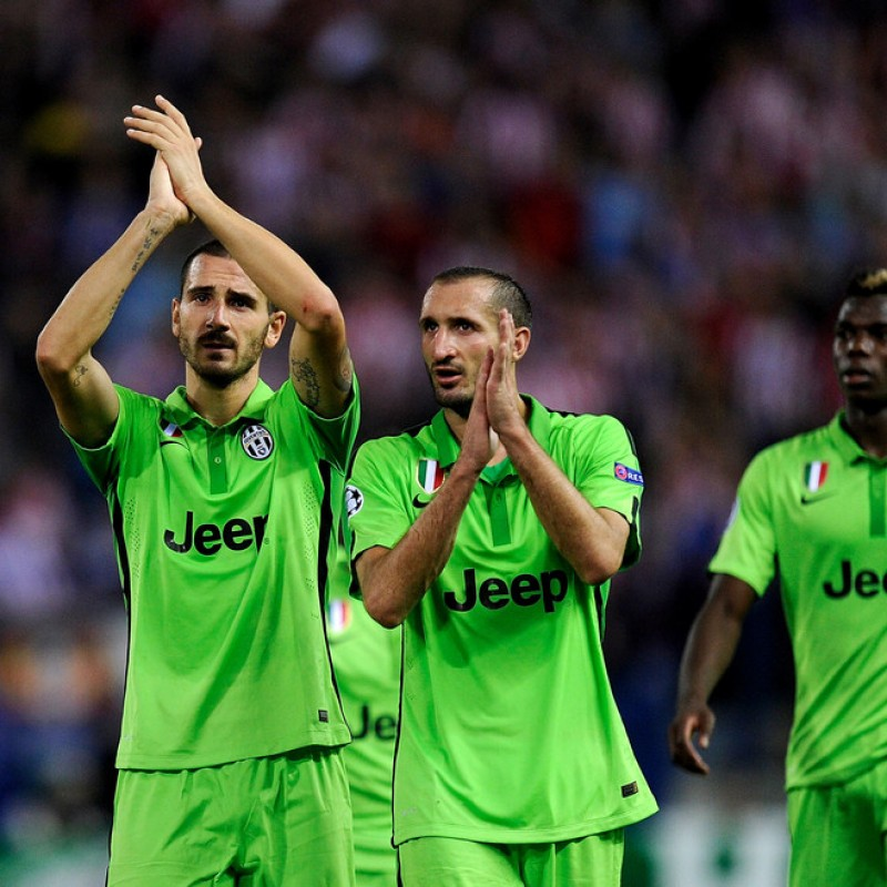 Chiellini's Match-Issued/Worn Juventus Shirt, 2015/16 UCL