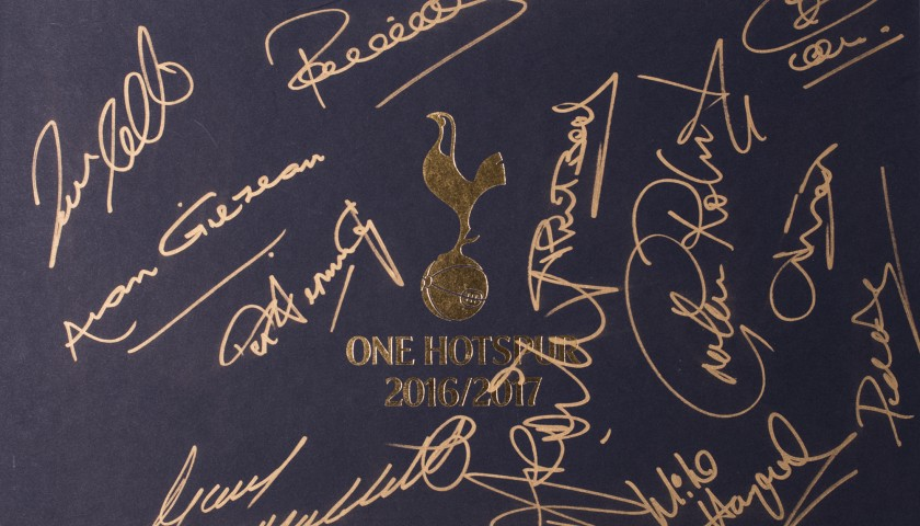 Signed, Limited Edition Tottenham Hotspur Opus