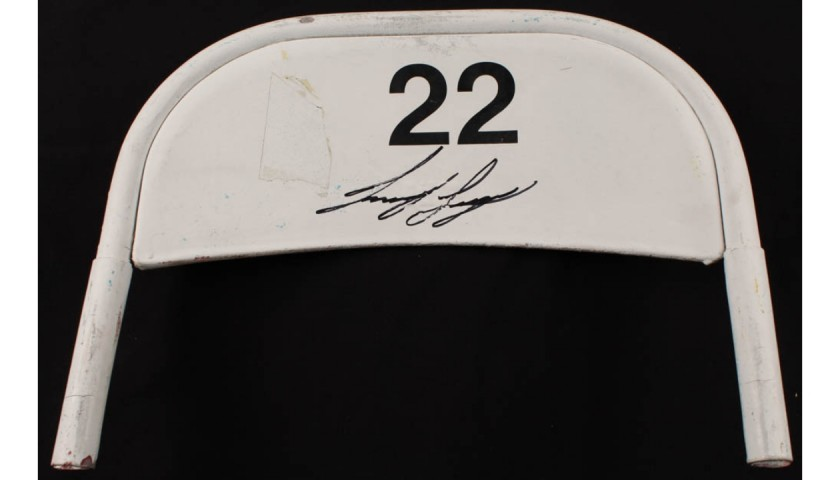 Joey Logano Signed Original #22 Daytona International Speedway Seat Back