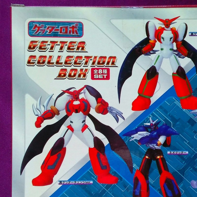 GETTER COLLECTION BOX- SET 8 PIECES - BRAND NEW