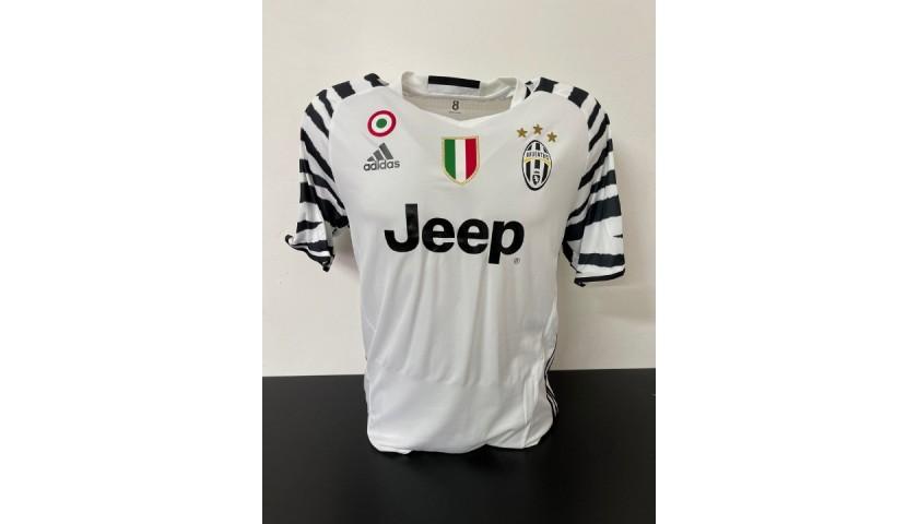Bonucci's Juventus Match Shirt, UCL 2016/17