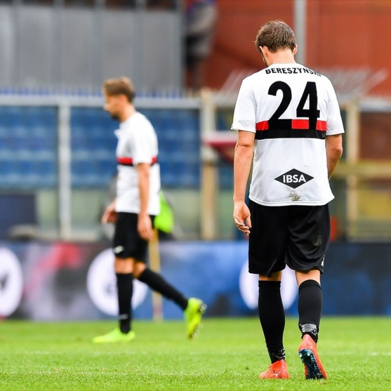 Bereszynski's Worn Shirt, Sampdoria-Atalanta - Special 120th Anniversary Edition