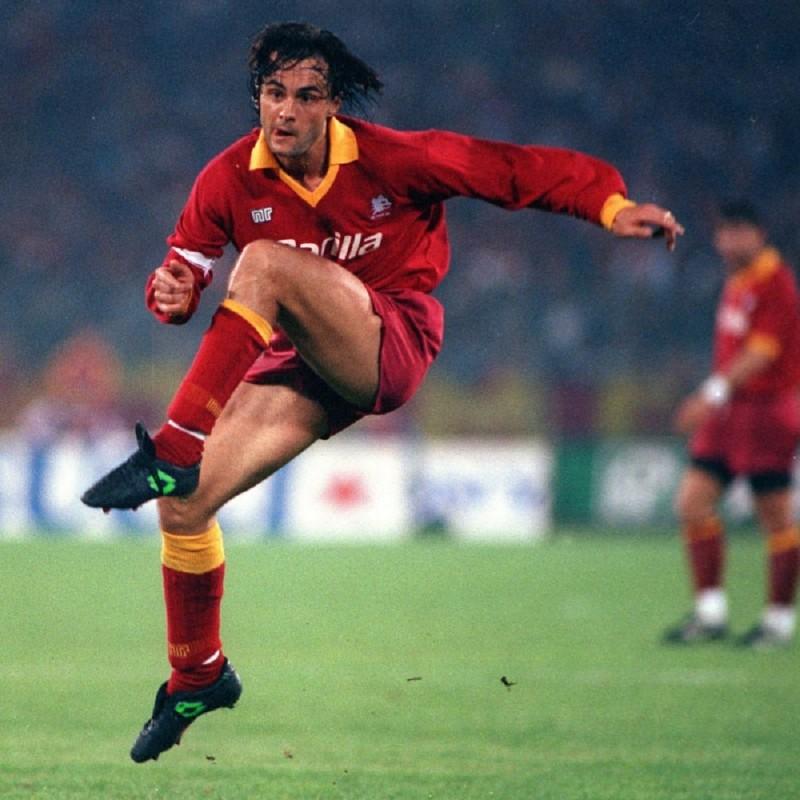 Giannini's Official Roma Shirt, 1987/88