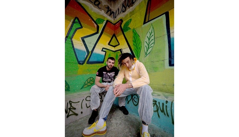 Meet Italian Rapper Ghali and Receive his Artwork