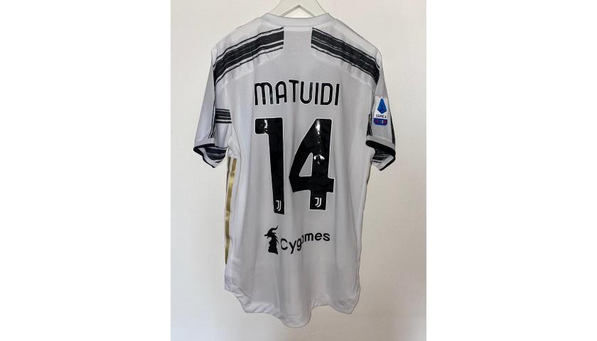 Matuidi's Match Shirt, Juventus-Roma 2020