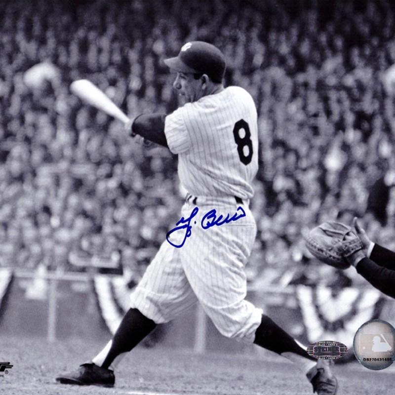 Yogi Berra Signed New York Yankees Photo