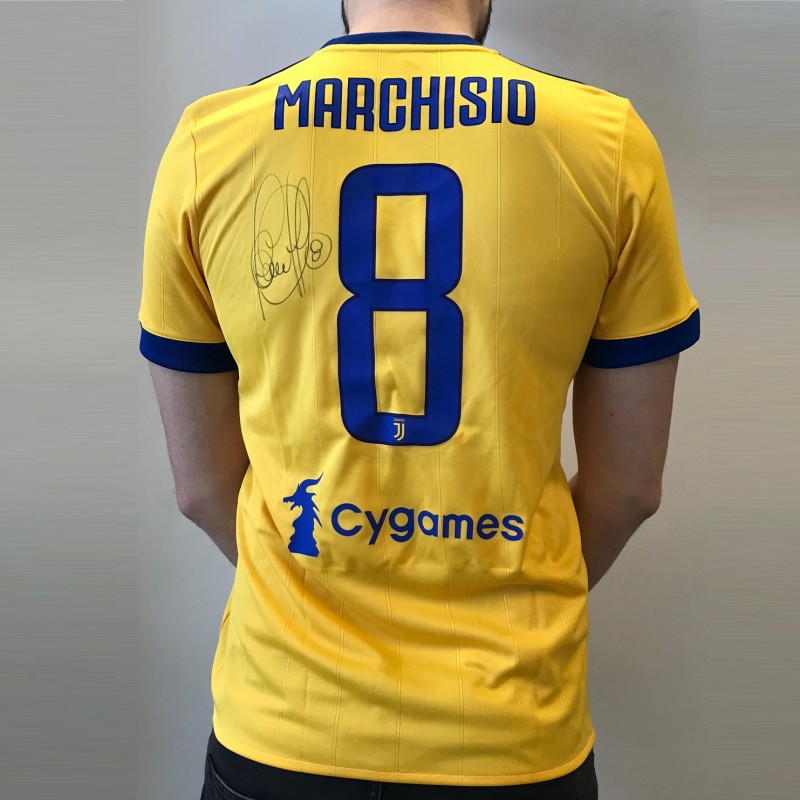 Official 2017/18 Juventus Shirt Signed by Marchisio