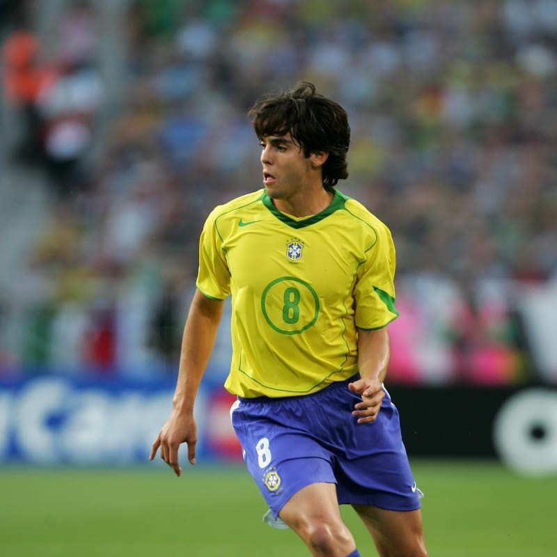 Kaka's Official Brazil Signed Shirt, 2004/05