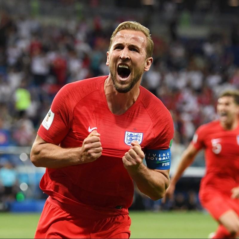 Kane's Match Shirt, Colombia-England 2018