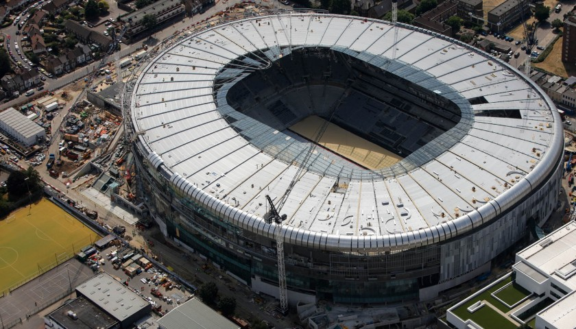 Exclusive Tour of the New Tottenham Hotspur Stadium with Ledley King