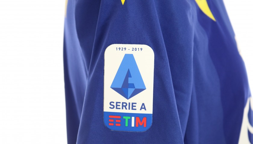 Rrahmani's Match-Issued Shirt, Hellas Verona-Atalanta 2020