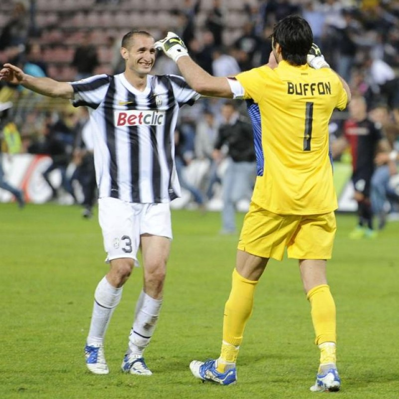 Buffon's Match Shirt, Cagliari-Juventus 2012 + Training Shirts