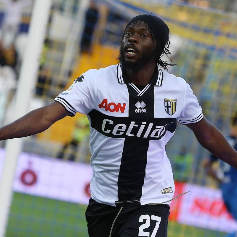 Gervinho's Parma Match-Issue Shirt, Serie A 2018/19