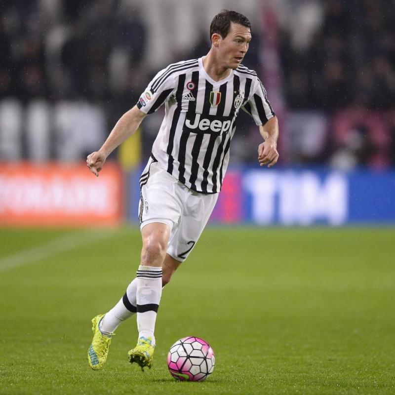 Lichtsteiner's Juventus Match Shirt, Serie A 2015/16
