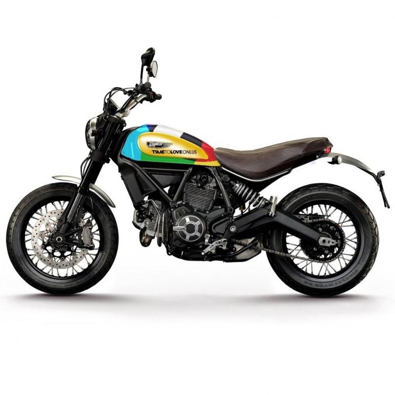 Motorbike Ducati Scrambler Icon