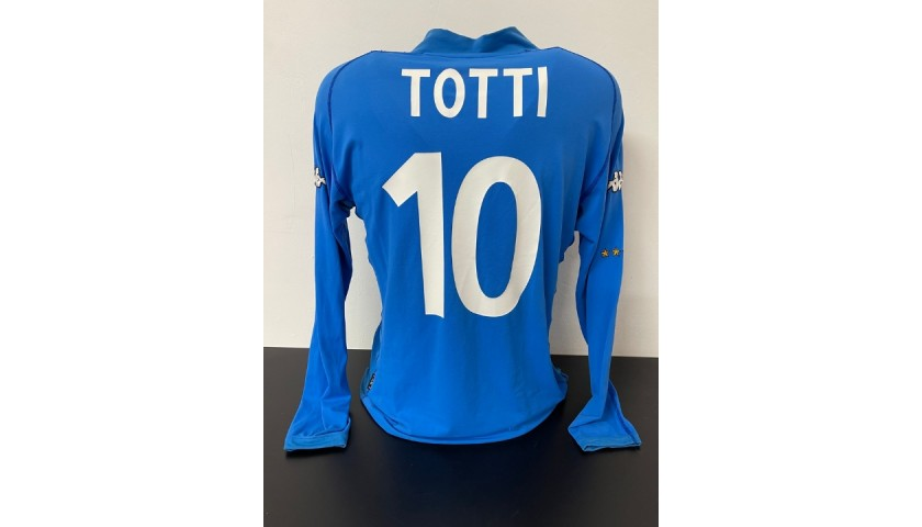 Totti's Italy Match Shirt, 2000/02