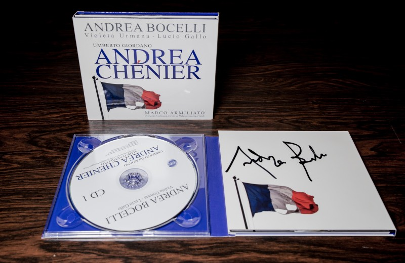 Signed Andrea Chénier CD