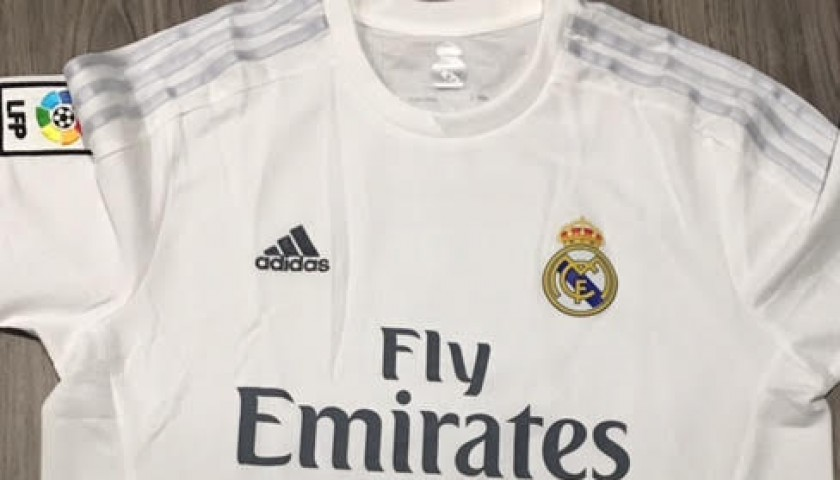Official Ronaldo Real Madrid Shirt La Liga 15 16 Signed Charitystars