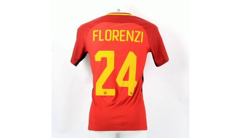 Florenzi's Roma Match Shirt, 2017/18 + Training Kit