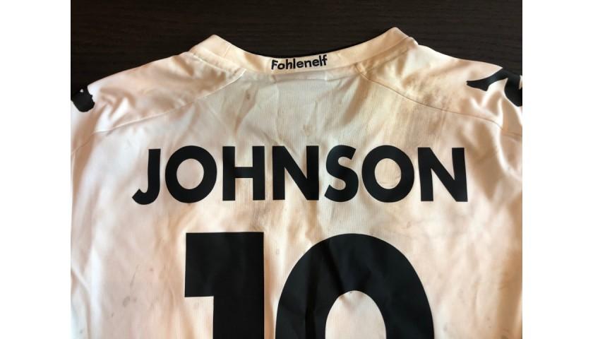 Johnson Worn and Unwashed Borussia Mönchengladbach Shirt, 2016/17