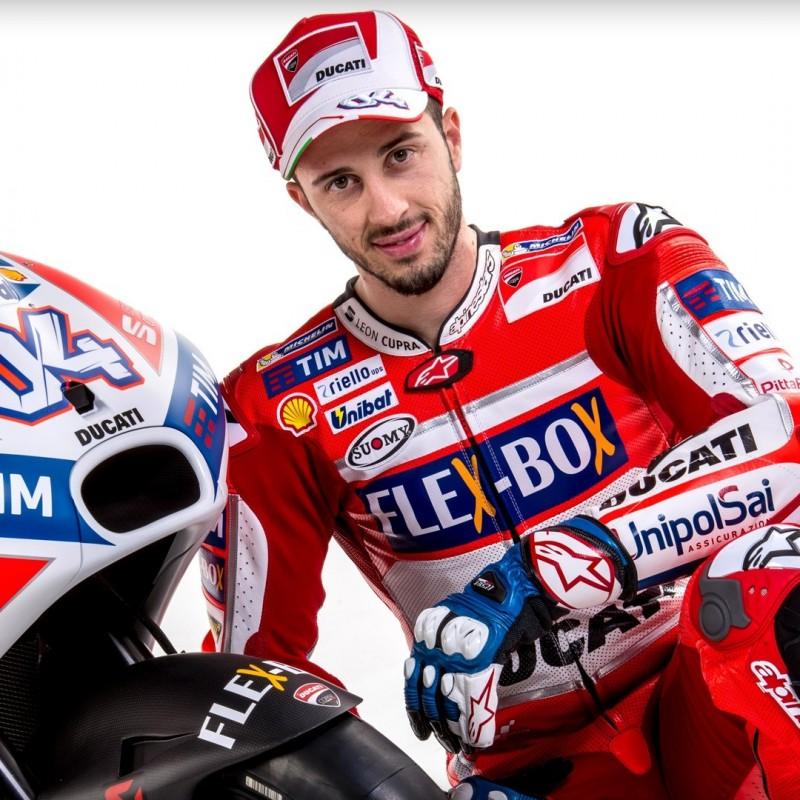Official Ducati Cap Signed by Andrea Dovizioso