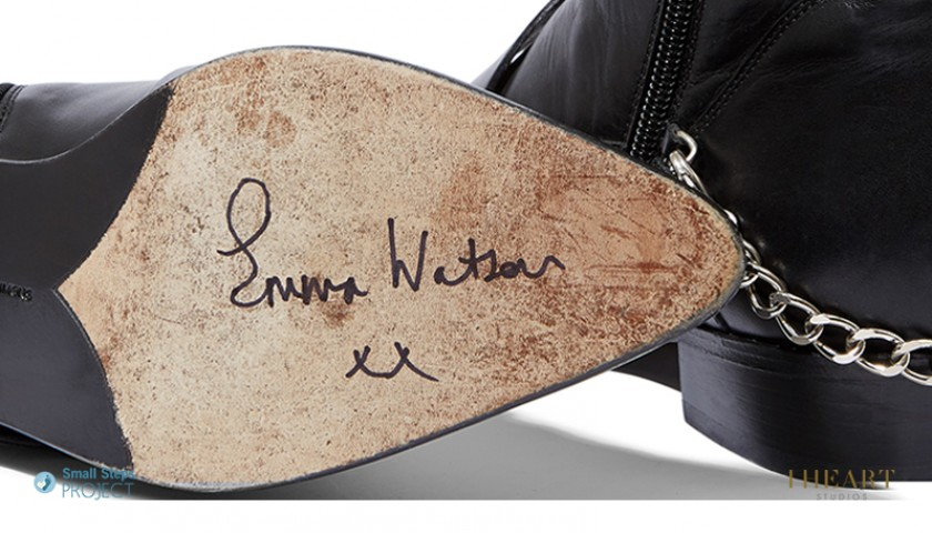 Emma Watson Signed Shoes