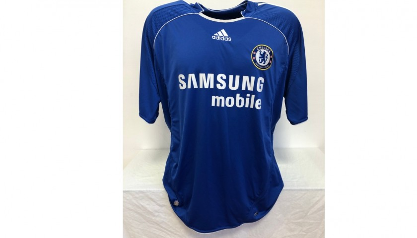 Drogba's Official Chelsea Signed Shirt, 2006/07