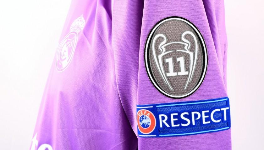 Ronaldo's Match Shirt, Juventus-Real Madrid, Cardiff Final 2017